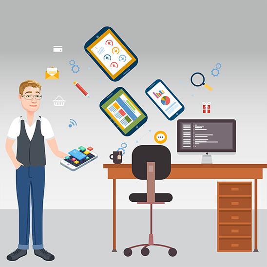 Mobile App Developer hd - MOBILE APP ENTWICKLER
