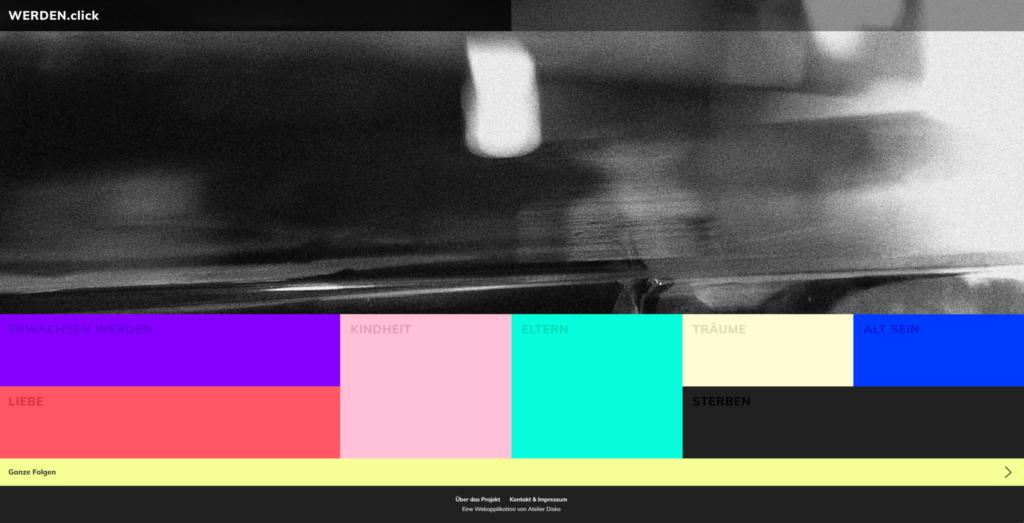 fette farben 1024x523 - 6 Trends in der Webentwicklung 2019